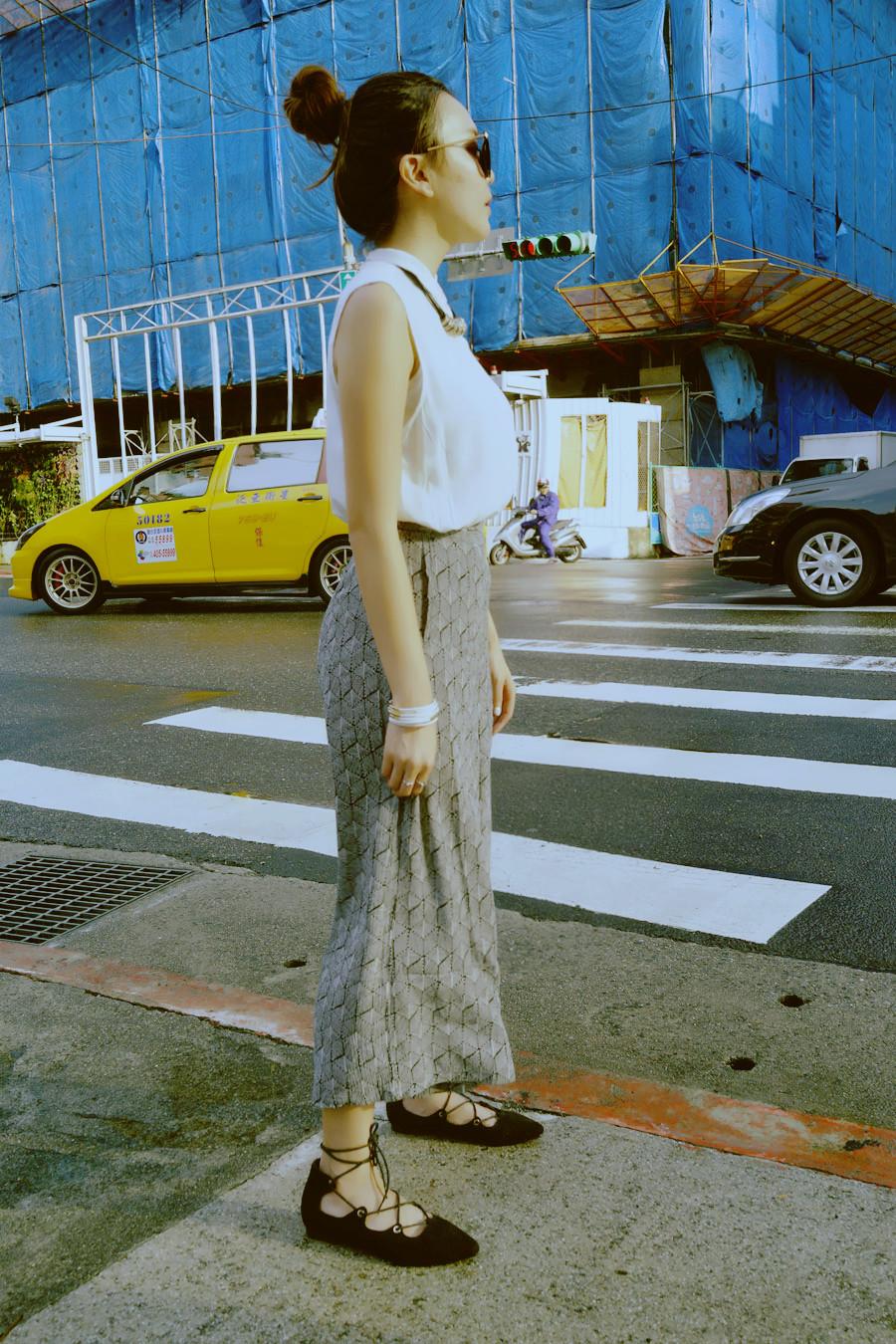 過馬路的Fashion