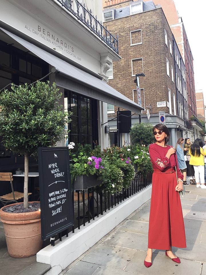 RED ON RED #LONDON