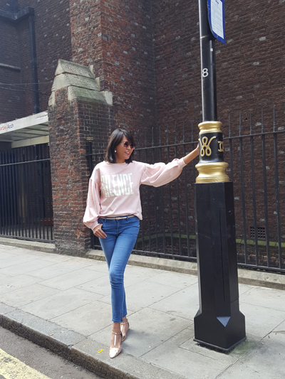 PINK STYLE #LONDON