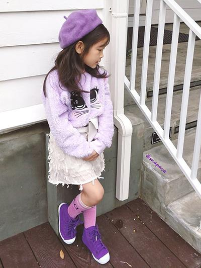 流行色紫色穿搭